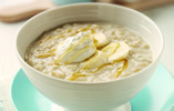 Honey and Yogurt Porridge with Banana