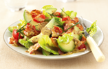 Warm Bacon and Avocado Salad with Dijon Dressing