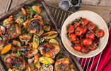 Chicken, Lemon and Tomato Traybake