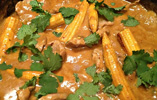 Thai Pork and Peanut Butter Curry