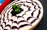 Blackberry Swirl Cheesecake