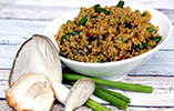 Quinoa with Shiitake & Oyster Mushrooms - Gluten Free
