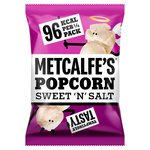 Metcalfe's Skinny Sweet & Salt Topcorn Sharing Bag