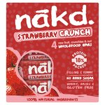Nakd Free From Strawberry Crunch Fruit & Nut Bar Multipack
