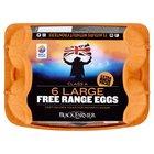 The Black Farmer Large Free Range Eggs