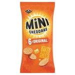 Jacob's Mini Cheddars Cheese 25g x
