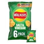 Walkers Salt & Vinegar Crisps 25g x