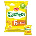 Walkers Quavers Cheese Snacks 16g x