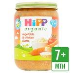HiPP Organic Vegetable & Chicken Risotto