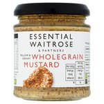 Essential Waitrose Wholegrain Mustard