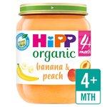 HiPP Organic Banana & Peach Dessert