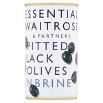 Spanish Pitted Black Olives Waitrose