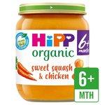 HiPP Organic Sweet Squash & Chicken