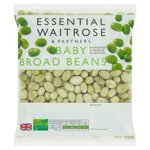 Essential Waitrose Frozen Baby Broad Beans