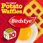 Birds Eye 10 Original Potato Waffles Frozen