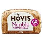 Hovis Nimble Wholemeal Medium Sliced Bread
