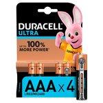 Duracell Ultra AAA Batteries Alkaline