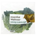 Essential Waitrose British Savoy Cabbage