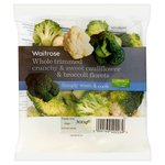 Waitrose Cauliflower & Broccoli Florets