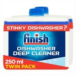 Finish Twin Pack Dishwasher Cleaner Regular