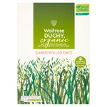 Waitrose Duchy Organic Jumbo Rolled Oats