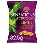 Sensations Lime & Coriander Poppadoms