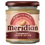 Meridian Crunchy Cashew Butter 100% Nuts