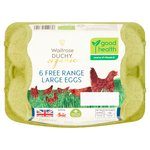 Duchy From Waitrose Large Organic Free Range Eggs