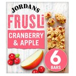 Jordans Cranberry & Apple Frusli Bars