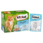 Kitekat Cat Pouches Fish in Jelly
