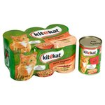 Kitekat Cat Tins Megamix Meat in Jelly