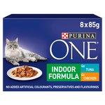 Purina One Indoor Tuna & Chicken in Gravy Pouch