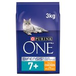 Purina One 7+ Cat Food Chicken & Wholegrains