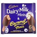 Cadbury's Dairy Milk & Caramel Mini's
