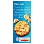 Waitrose Belgian White Choc Chunk Cookie