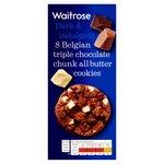 Waitrose Belgian Triple Choc Chunk Cookies