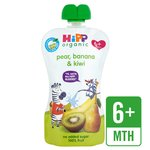 HiPP Organic Just Fruits Pear, Banana & Kiwi Pouch