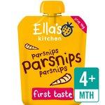 Ella's Kitchen Organic Parsnips, Parsnips, Parsnips