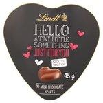 Lindt Hello Heart 10 Milk Chocolate Hearts