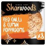 Sharwood's Spicy Chilli & Cumin Poppadoms