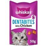 Whiskas Dentabites Cat Treats Chicken