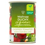 Waitrose Duchy Organic Chopped Italian Tomatoes