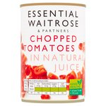 Chopped Italian Tomatoes in Juice essential Waitrose