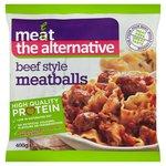 Meet the Alternative Beef Style Meatballs Frozen