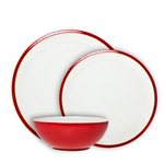 Denby Everyday Stoneware 12pc Dinnerset, Red