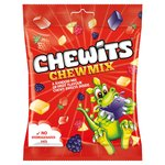 Chewits Chew Mix Fruit Flavour Chewy Sweets