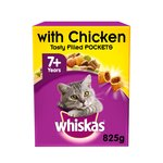 Whiskas 7+ Cat Complete Dry with Chicken