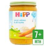 HiPP Organic Carrot, Salmon & Dill Risotto