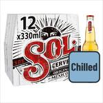 Sol Mexican Beer Chilled to your Door