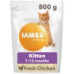 Iams Kitten & Junior Dry Cat Food Chicken